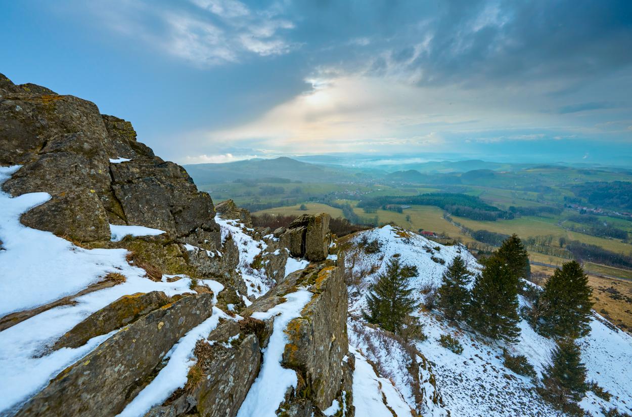 Pferdskopf Ende des Winters